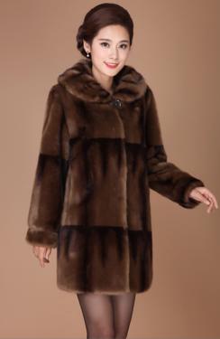 Женская меховая шуба  . Модель 1025