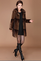 Женская меховая шуба. Модель 1025, фото 7