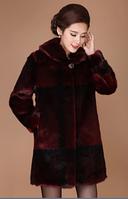 Женская меховая шуба. Модель 1025, фото 4