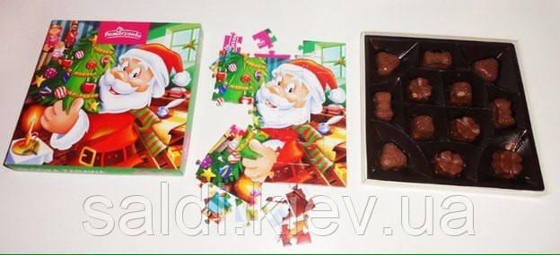 Шоколадные конфетки с пазлом Pomorzanka (Польша) (вес 120 грамм)
