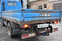 Прицепное устройство (Фаркоп) со съемным крюком JAC 1020 бортовой  2006+ г.в.