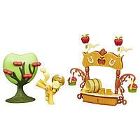 My Little Pony Ігровий набір міні-колекція Sweet Apple Juice Stand Set (Киоск со сладким яблочным соком)