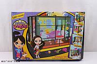 """Домик """"Littlest Pet Shop"""" 5003 сборный, с куклой, мебельюдля ванной, в кор.48*31*7см"""