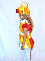 Детский новогодний костюм золотой рыбки