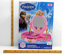 "Туалетный столик ""Frozen"" 88023-01 батар,свет,звук,зеркало,фен,аксесс"