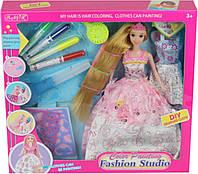 """Кукла типа """"Барби""""Модельер"""" 904 с аксессуарами, в коробке 35*6*33"""