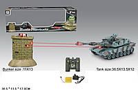 Танк батар. р/у 99864/99868 пульт на батар,свет,в кор36,5*13,5*12см