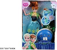 """Кукла """"Frozen """" ZT8876 батар.муз, в кор. 33*22,5*9см"""