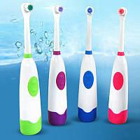 Электрическая зубная щетка +сменная насадка