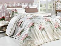 Комплект постельного белья сатин first choice семейный размер florida pudra
