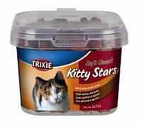Лакомство для котов  Kitty Stars  (лосось+ягнёнок) 140 гр