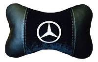 Автомобильная подушка ортопедическая подголовник Бабочка