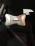 Подушка для шеи подголовник Бабочка, фото 5