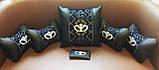 Автомобильная подушка под шею подголовник Бабочка, фото 3
