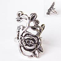 [17,18,19,20] Кольцо молодая цветущая роза 17