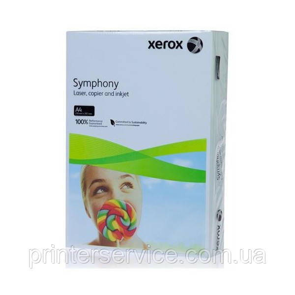 Цветная бумага Xerox SYMPHONY Pastel Blue (160) A4 250л.