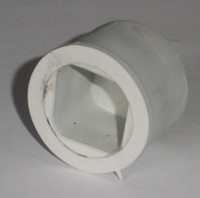 Заглушка для трубы ПВХ 22*22 мм.