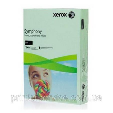 Цветная бумага Xerox SYMPHONY Pastel Green (160) A4 250л.