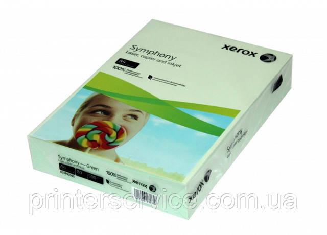 Цветная бумага Xerox SYMPHONY Pastel Green, (160) A4  250л. (003R93226)
