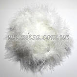 Пух на нити, 1,8 - 2 м, цвет белый, ширина 4 см, фото 2