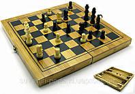 Нарды+шахматы+шашки из бамбука