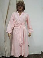 Халат женский длинный велюр Marilyn