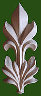 Накладка из дерева как элемент декора