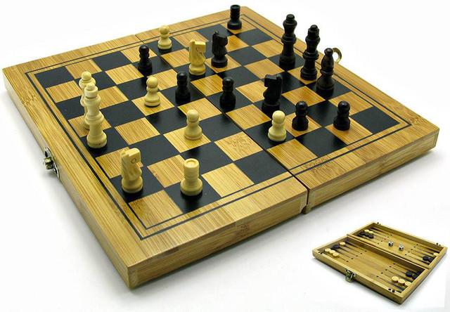 Набор нарды+шахматы+шашки