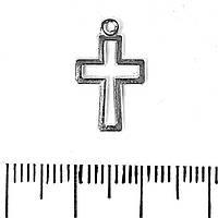 [12/11мм]  Фурнитура для браслетов Пандора Подвеска Крестик