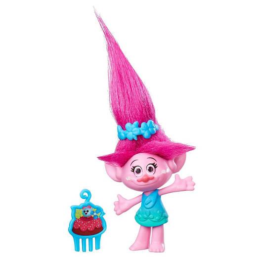 Trolls Poppy Collectible Figure - троль Поппі 10 см ( Тролли, тролль Розочка, Hasbro B7346)