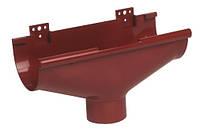 Воронка водостока компенсирующая Nicoll 25 красная