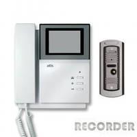 Видеодомофон черно-белый ч\б AD 228 PF2