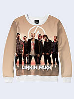 Классный женский свитшот Linkin Park участники с модным фотопринтом. XXS