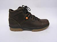 Ботинки подростковые кожаные Botus коричневые