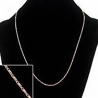 Цепочка Xuping, плетение Мадлена, L-45см d-1.2мм цвет золото