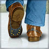 Ледоходы, ледоступы, накладки на обувь.