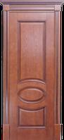 Двери Валенсия  медовый дуб, коньячный дуб