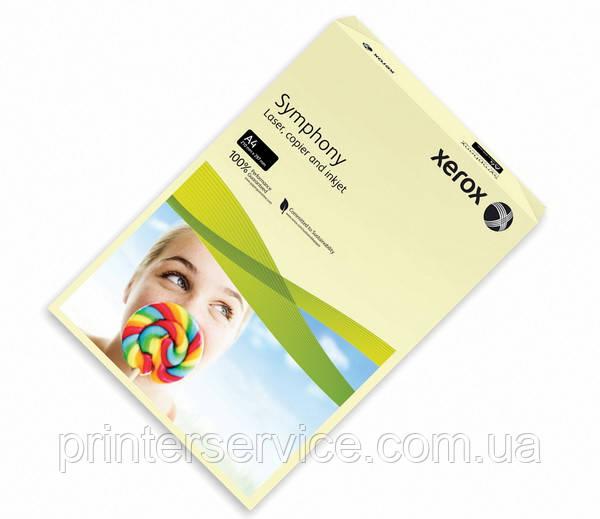 Цветная бумага Xerox SYMPHONY Pastel Ivory, (160) A4  250л. (003R93219)