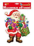 Наклейка новогодняя для окон 30*21 см. Новогодько