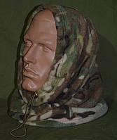 Зимний флисовый БАФ (шарф-труба) в расцветке MTP (multicam). НОВЫЙ, UA., фото 1