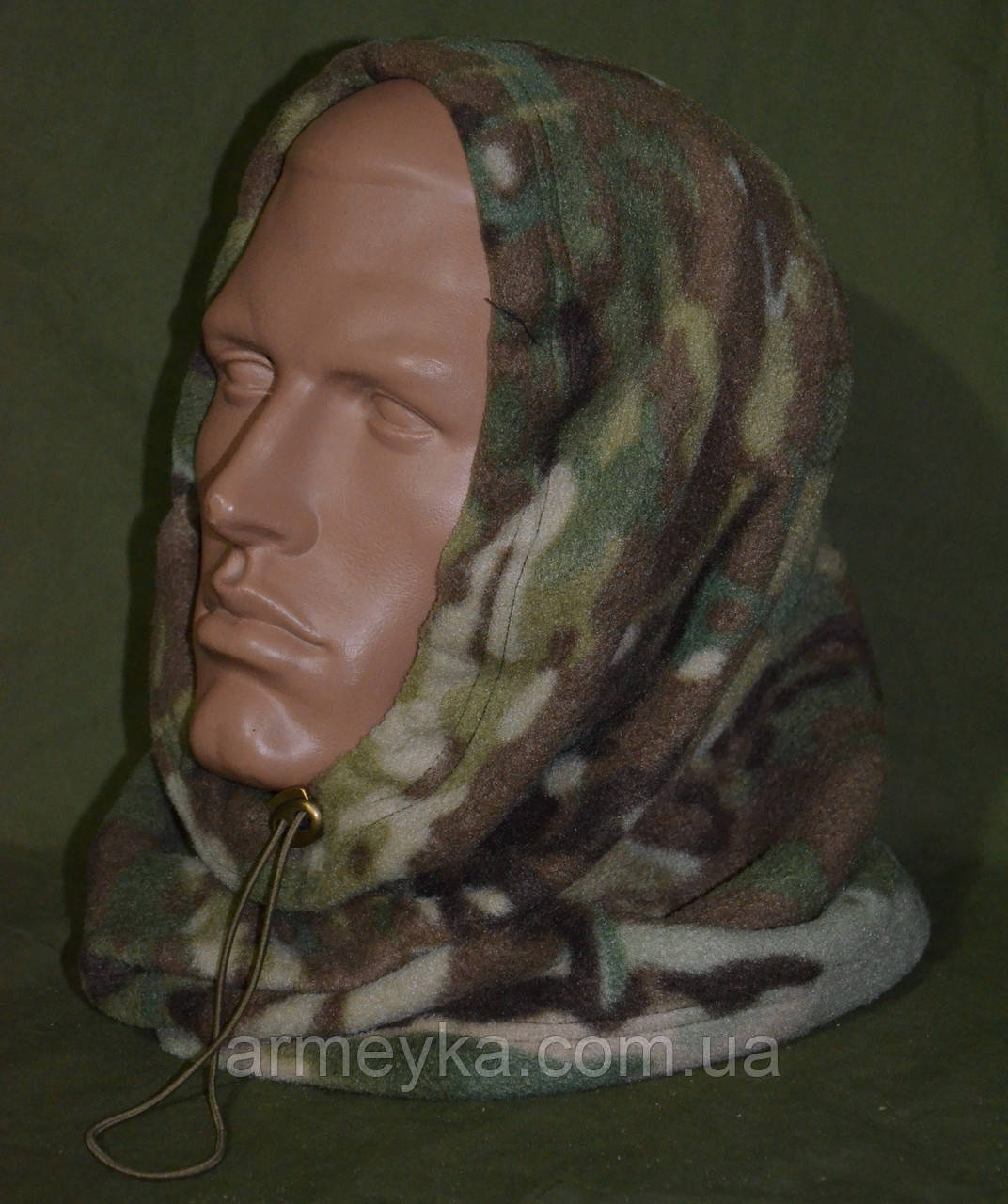Зимний флисовый БАФ (шарф-труба) в расцветке MTP (multicam). НОВЫЙ, UA.