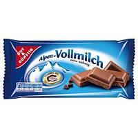 Шоколад  Edeka Alpen-Vollmilch 100 гр