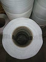 Лента упаковочная полипропиленовая 19мм * 0,8 мм * 1 км белая