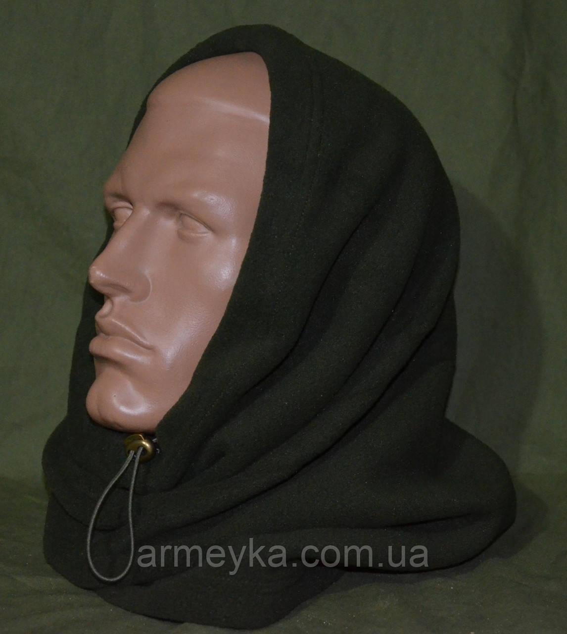 Зимний флисовый БАФ (шарф-труба) олива. НОВЫЙ, UA.