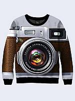 Замечательный женский свитшот Фотокамера с красочным 3D-рисунком XXS