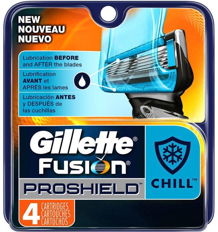 "Картридж Gillette ""Fusion"" PROSHIELD CHILL (4)"
