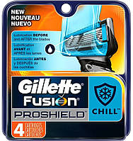 "Картридж Gillette ""Fusion"" PROSHIELD CHILL (4)"