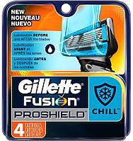 "Картридж Gillette ""Fusion"" PROSHIELD CHILL (4), фото 1"