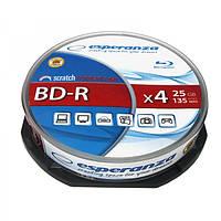 Диск ESPERANZA BD-R 25GB X4 - CAKE BOX 10 шт., Харьков
