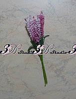 Добавка тычинка лаванда бело-розовая